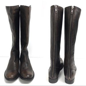 Frye Melissa Stud Knee High Boots Shoes Size 5.5
